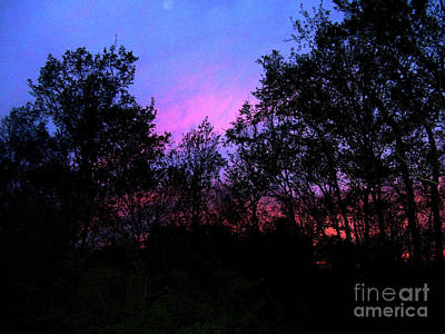 Photograph - April Sunset by Melinda Dare Benfield