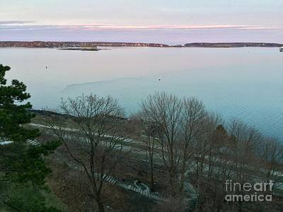 Photograph - April Twilight On Casco Bay by Patricia E Sundik
