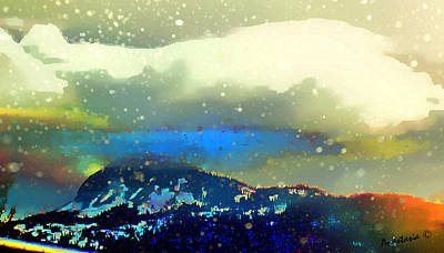 Photograph - April Weather La Platas Range Colorado 2 by Anastasia Savage Ealy