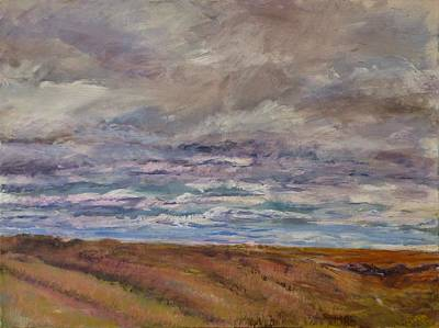 Painting - April Wind by Helen Campbell