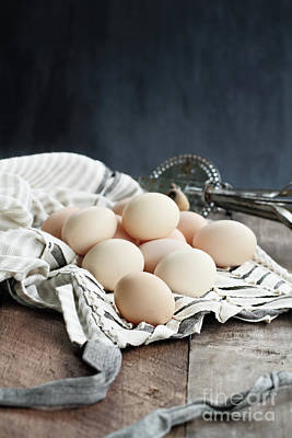 Photograph - Apron And Eggs by Stephanie Frey