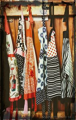 Photograph - Aprons by Kathy Barney