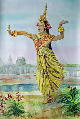 Apsara paintings pixels apsara painting apsara by margarita karelina altavistaventures Images