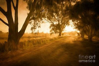 Photograph - Apsley Sunrise     Go by Ray Warren