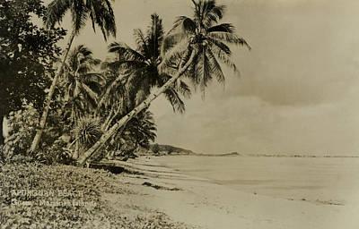 Apurguan Beach Guam Marianas Islands Art Print