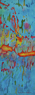 Painting - Aqua Amour by Lynda Hoffman-Snodgrass