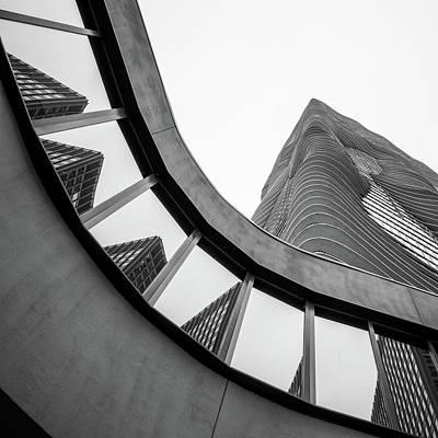 Studio Gang Photograph - Aqua Chicago by Mike Burgquist