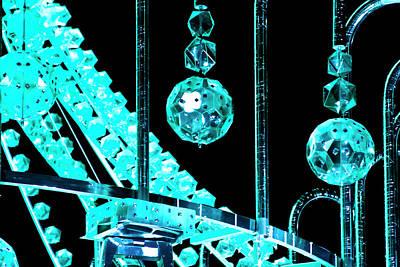 Photograph - Aqua Crystals by Miroslava Jurcik