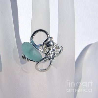 Argentium Jewelry - Aqua Girl by Lisa DiNoia