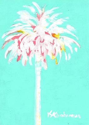Painting - Aqua Marine Palm by Kristen Abrahamson