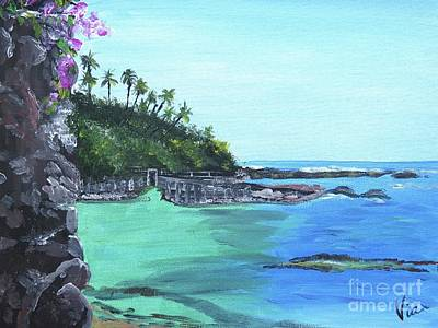 Painting - Aqua Passage by Judy Via-Wolff