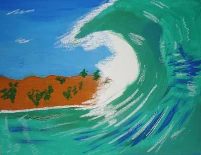 Aqua Passions Art Print