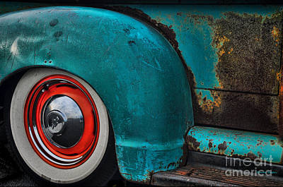 Photograph - Aqua Rust by Randy Rogers