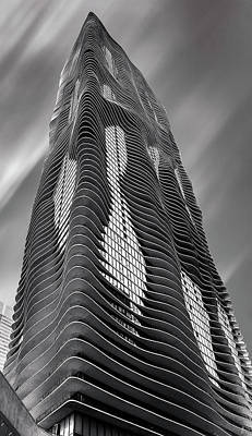 Photograph - Aqua Tower Chicago by Patrice Bilesimo