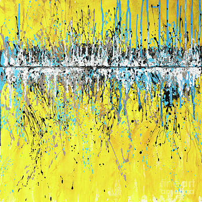 Painting - Aqua Viva by Annie Young Arts