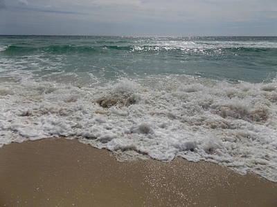 Relief - Aquablue Wave by Julie Pappas