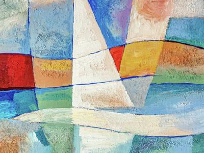 Painting - Aquamarine by Lutz Baar