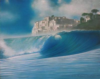 Painting - Aquamarine by Mark  Leavitt