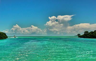 Photograph - Aquamarine Sea by Nancy Yuskaitis