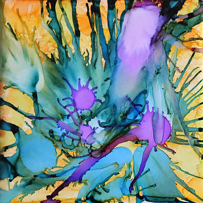Mixed Media - Aquarium by Deborah Boyd
