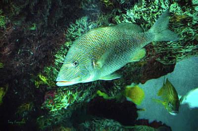 Digital Art - Aquarium Fish by Trey Foerster