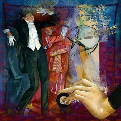 Music Painting - Aquarium Funk by Laura Botsford