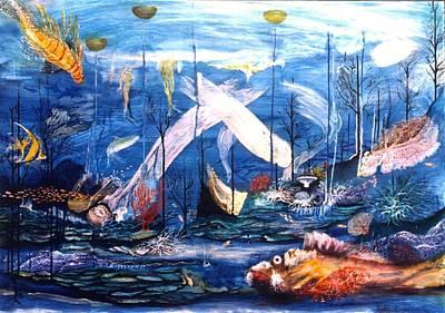 Aquarium Original by G Jay Jacobs