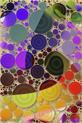 Digital Art - Aquarius Illuminations by Joan Reese