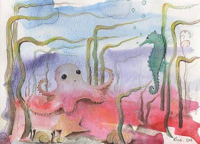 Aquatic Bliss Art Print