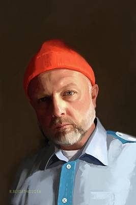 Digital Art - Picture Yourself.  Great Gift Idea.  See Description Below About Creating A Self Portrait For You by Rick Blyseth