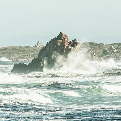 Coast Wall Art - Photograph - Aquatic Spray by Jorgo Photography - Wall Art Gallery