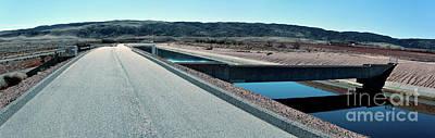 Photograph - Aqueduct At Marker 323.53 by Joe Lach