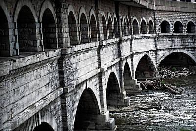 Aqueduct Digital Art - Aqueduct by Larry Neuberger