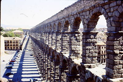 Photograph - Aqueduct Of Segovia  by Hugh Peralta