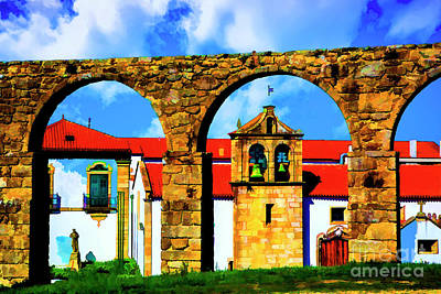 Photograph - Aqueduct Portugal by Rick Bragan