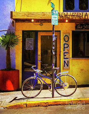 Photograph - Aqueria Bicycle by Craig J Satterlee
