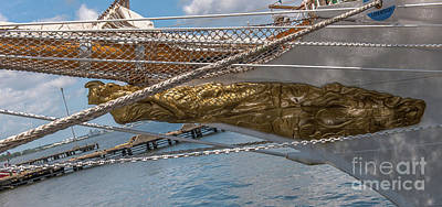 Bow Sprit Photograph - Ara Libertad Q-2 Figurehead by Dale Powell