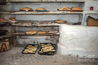 Photograph - Arab Bakery by Patricia Hofmeester