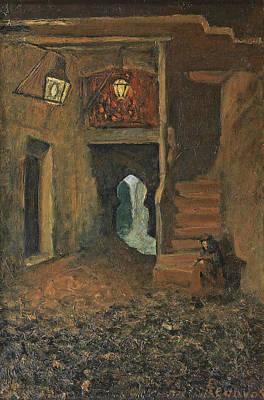 Painting - Arab Corner. Toledo by Dario de Regoyos