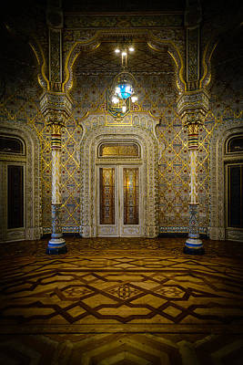Old Door Photograph - Arab Room Door by Marco Oliveira