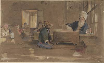 Arab Painting - Arab School by John Frederick