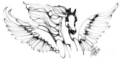 Arabian Angel Art Print