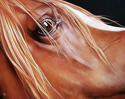 Painting - Arabian by Elena Kolotusha