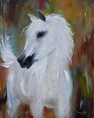 Painting - Arabian Marble by Judith Rhue