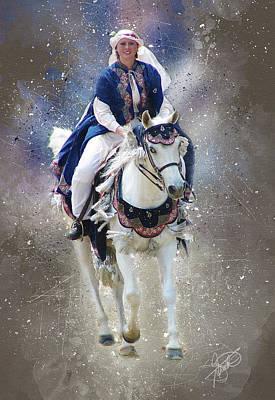 Kentucky Horse Park Digital Art - Arabian Nights by Tom Schmidt
