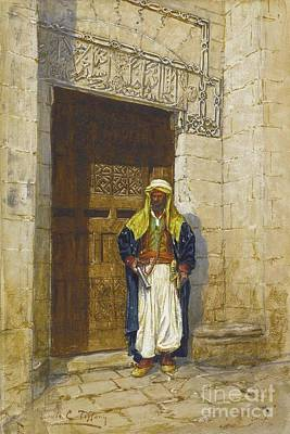Comfort Painting - Arabian Subject by MotionAge Designs