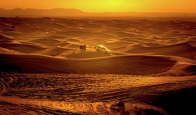 Photograph - Arabian Sunset  by Andrew Matwijec