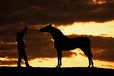 Konik Photograph - Arabs #5 by Artur Baboev