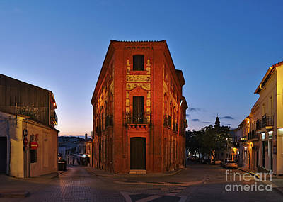 Photograph - Aracena City At Dusk by Angelo DeVal