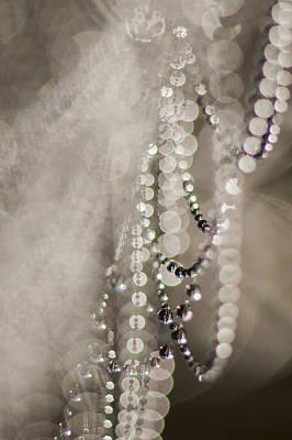 Photograph - Arachne's Beads by Robert Potts